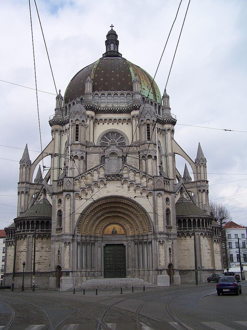 กรุงบรัสเซลส์-โบสถ์เซนต์เมรี