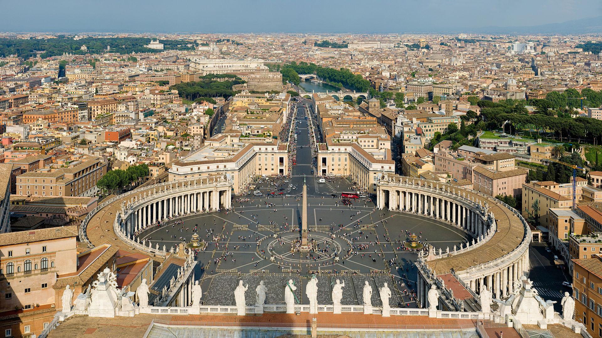 กรุงโรม-จัตุรัสเซนต์ปีเตอร์