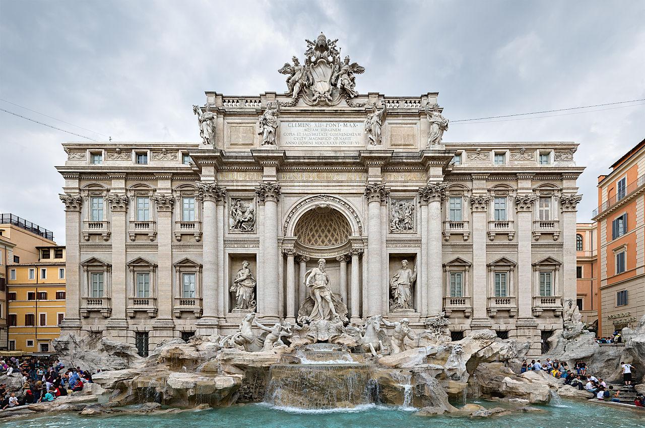 กรุงโรม-น้ำพุ
