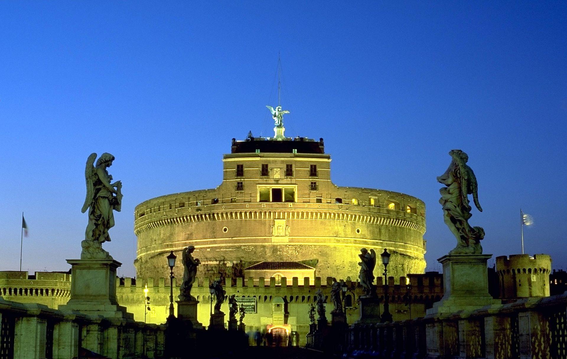 กรุงโรม-ปราสาทเซนต์เเองโกล