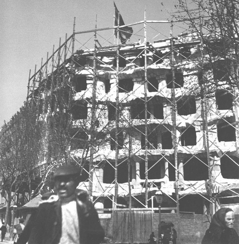 คาซ่า มิล่า-ช่วงก่อสร้าง