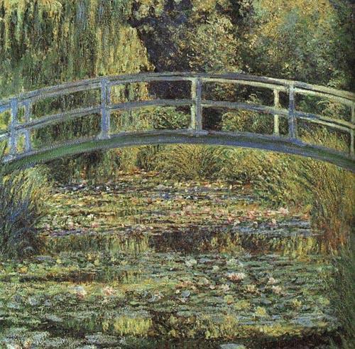 จิแวร์นี-ภาพวาดสะพาน
