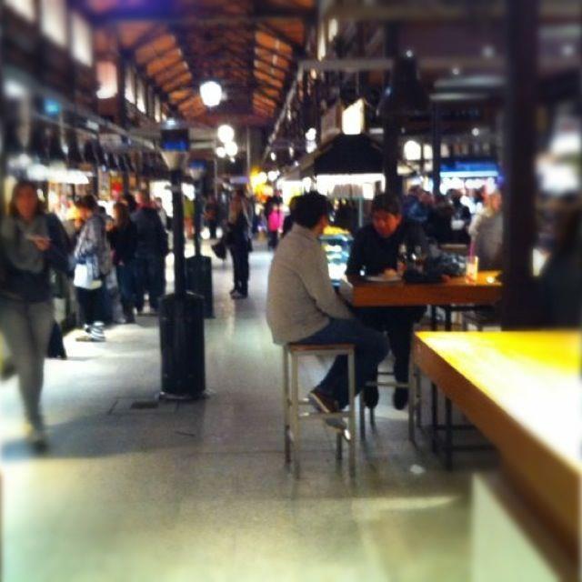 ตลาดซานมิเกล-นั่งกิน