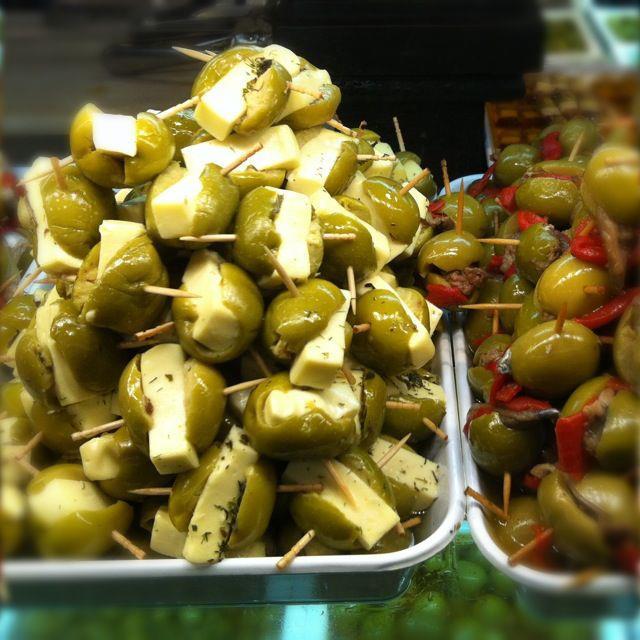 ตลาดซานมิเกล-มะกอก