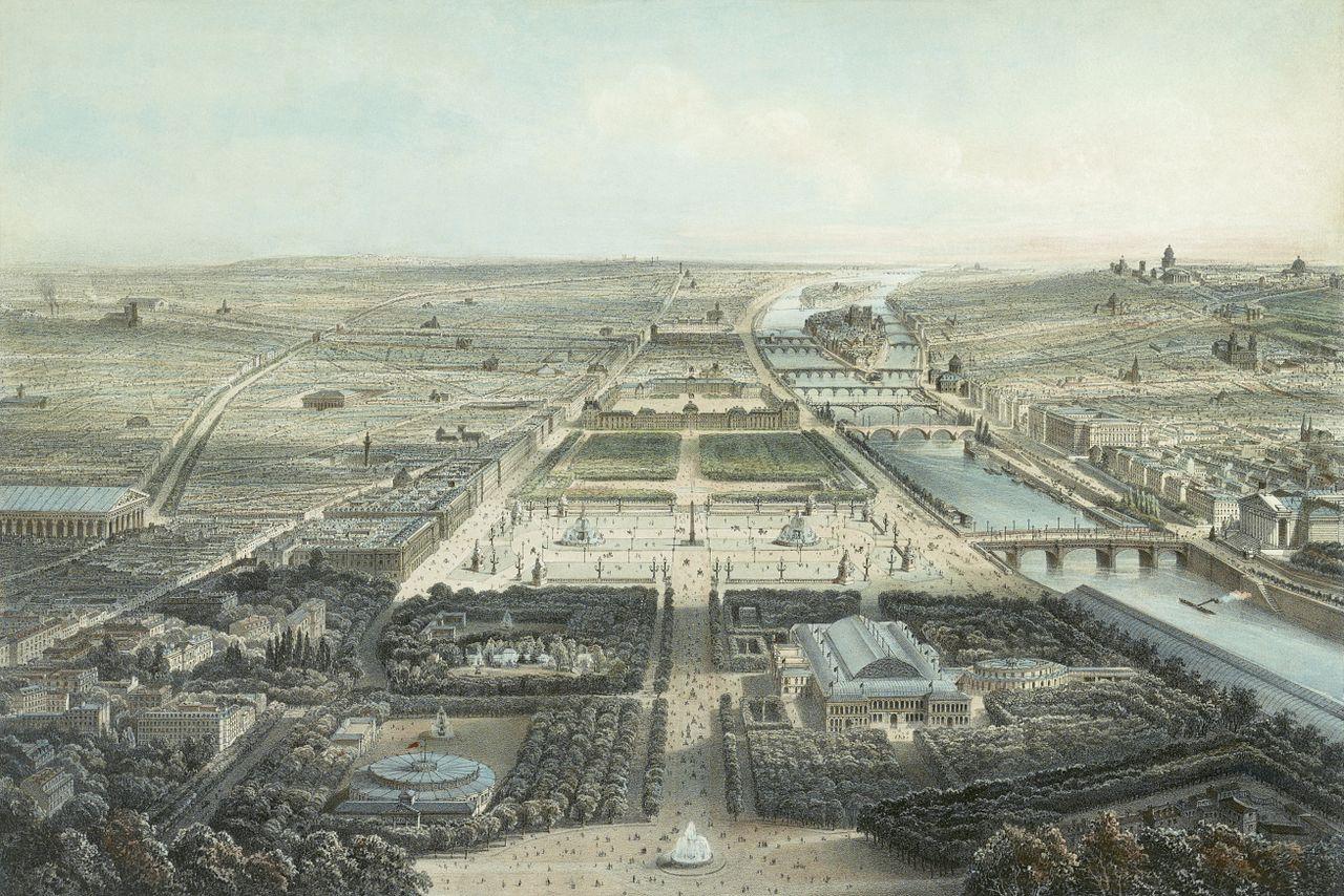 ถนนฌ็องเซลิเซ่ -ในอดีต
