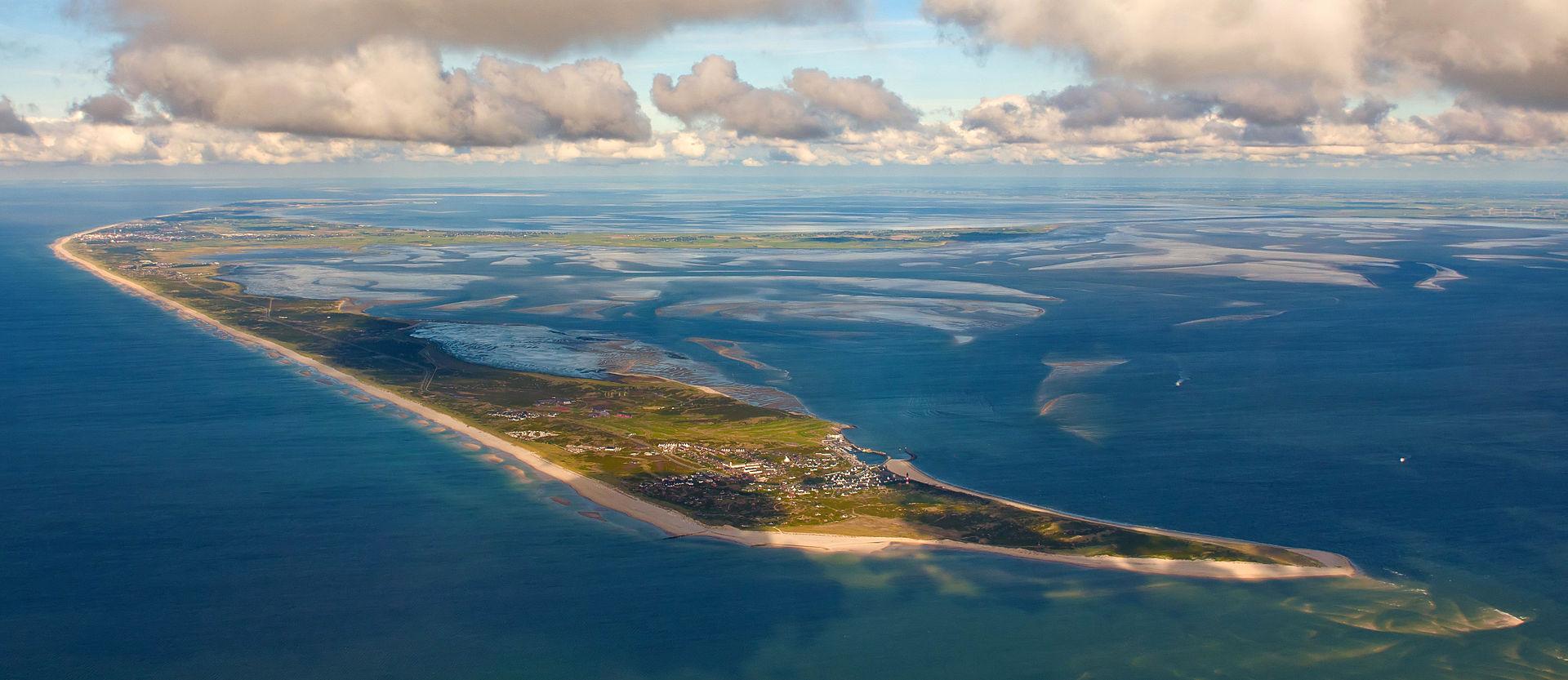 ทะเลวาดเดน-วิวมุมสูงสวยงาม
