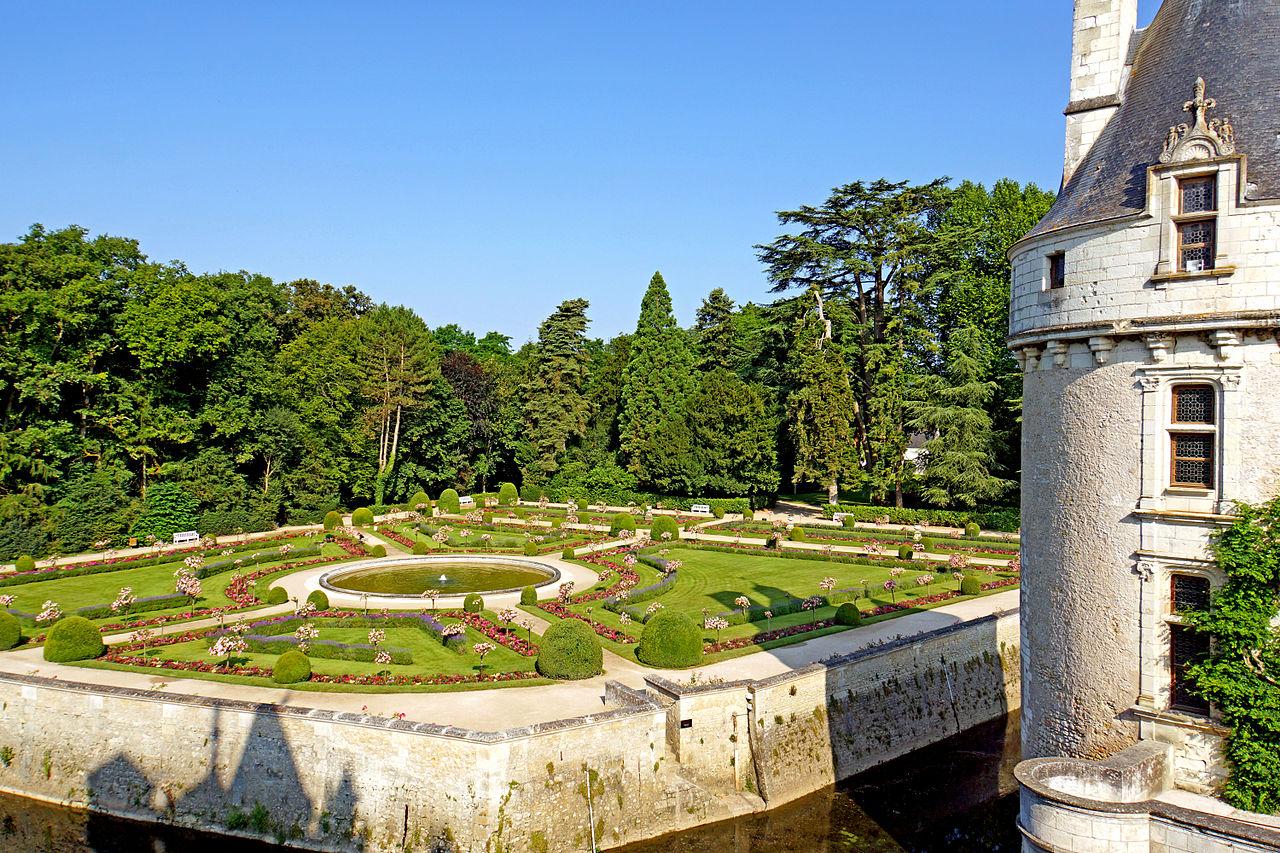 ปราสาทเชอนงโช -สวนสวย