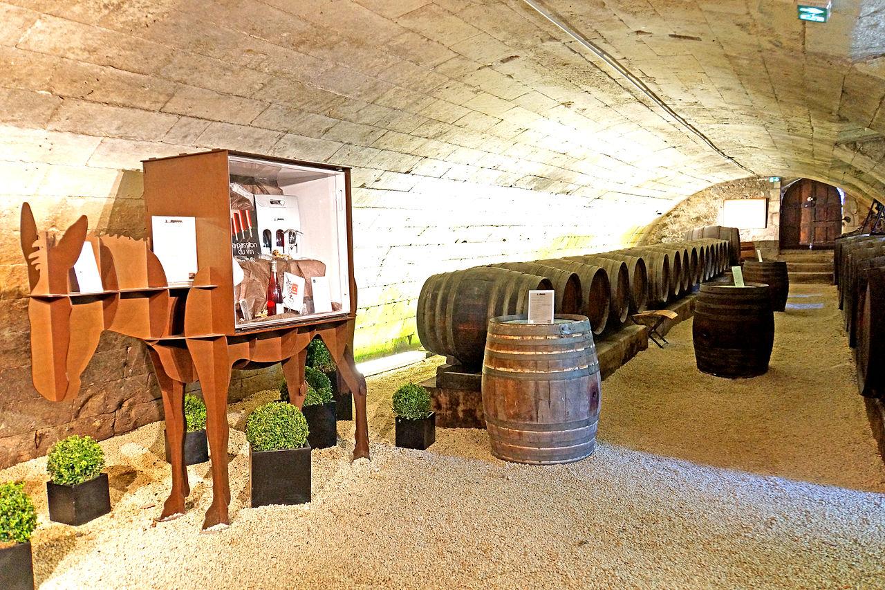 ปราสาทเชอนงโช -โรงเก็บไวน์