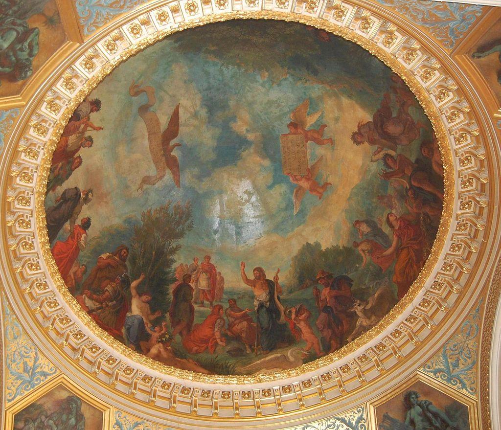 พระราชวังลักเซมบูร์ก-ภาพเชียนบนเพดาน