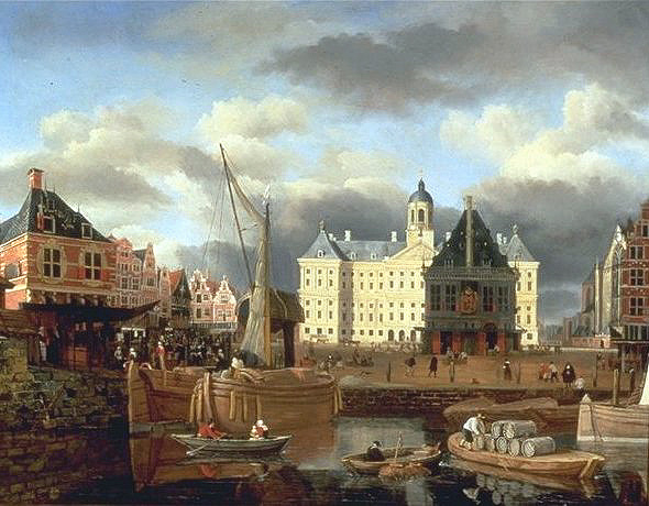 พระราชวังหลวง อัมสเตอร์ดัม -งดงามมาก