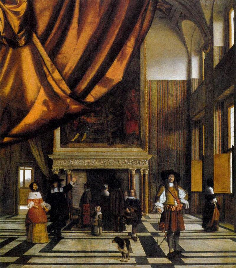 พระราชวังหลวง อัมสเตอร์ดัม -น่าสนใจ