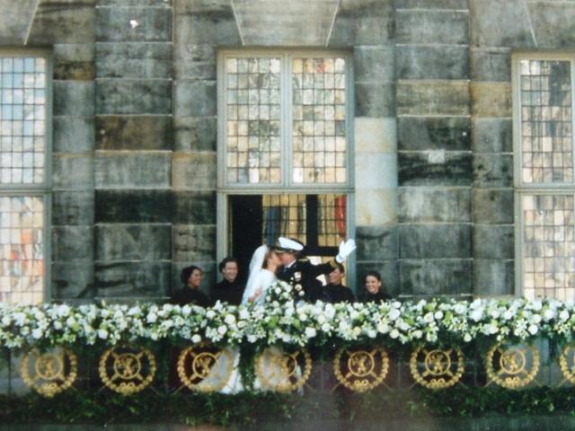 พระราชวังหลวง อัมสเตอร์ดัม -ใช้ในพระราชพิธีอภิเษกสมรส