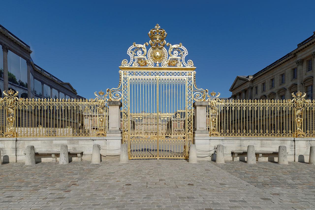 พระราชวังแวร์ชายส์ -ประตูรั้วอันโด่งดัง