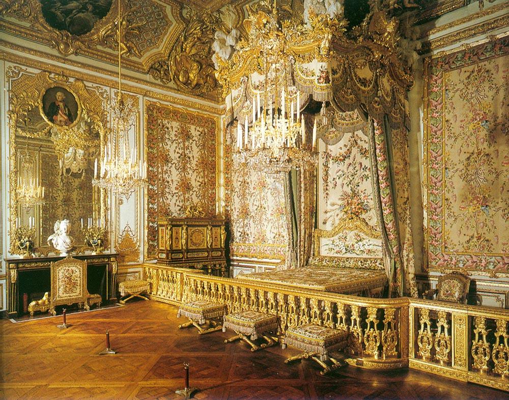 พระราชวังแวร์ชายส์ -ห้องบรรทม