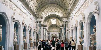 พิพิธภัณฑ์นครวาติกัน-งดงาม