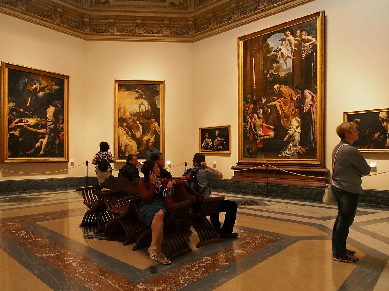 พิพิธภัณฑ์นครวาติกัน-ห้องภาพเขียน