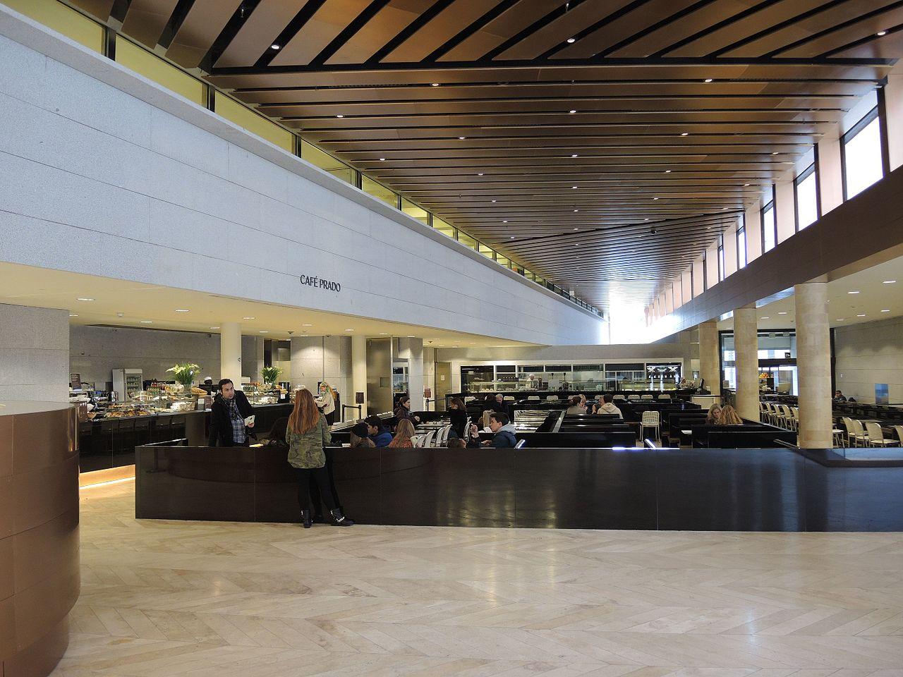 พิพิธภัณฑ์ปราโด-ร้านอาหารในพิพิธภัณฑ์