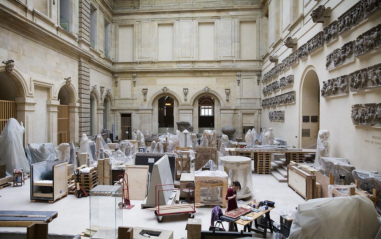 พิพิธภัณฑ์ลูฟร์-ห้องเก็บผลงานศิลปะ