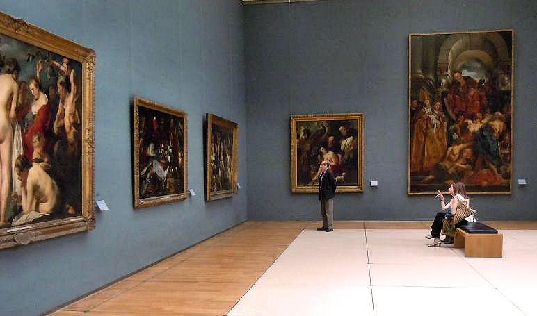 พิพิธภัณฑ์วิจิตรศิลป์หลวงเเห่งเบลเยียม -ชมภาพวาด