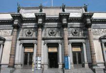 พิพิธภัณฑ์วิจิตรศิลป์หลวงเเห่งเบลเยียม -ทางเข้า