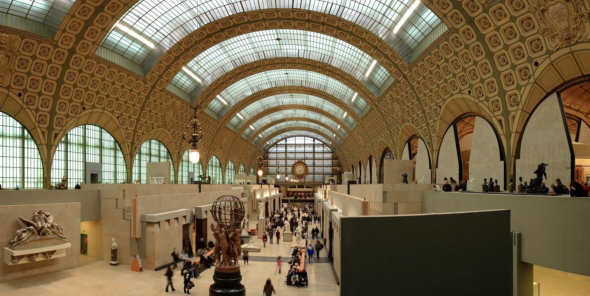 พิพิธภัณฑ์ออร์เซย์ -ภายในสวยงาม