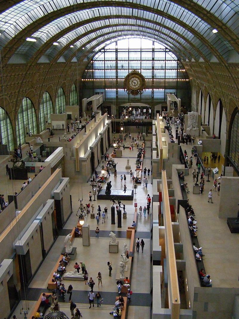 พิพิธภัณฑ์ออร์เซย์ -มุมสูง