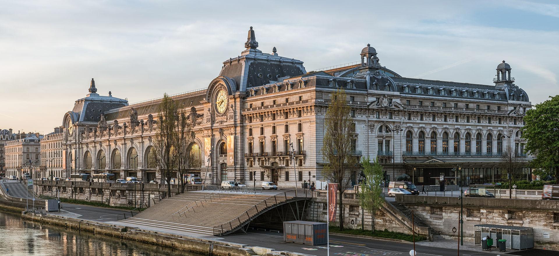 พิพิธภัณฑ์ออร์เซย์ -อาคารสวยงาม