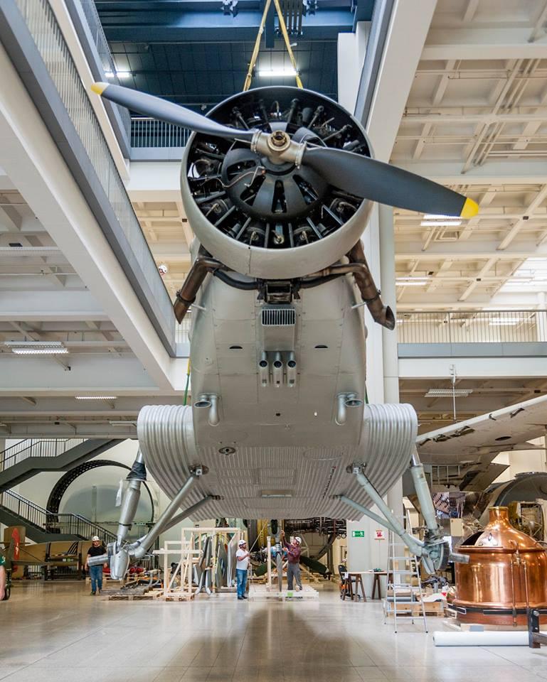 พิพิธภัณฑ์เยอรมัน -เครื่องบิน