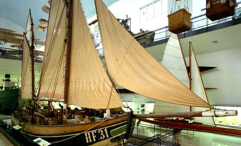 พิพิธภัณฑ์เยอรมัน -เรือ
