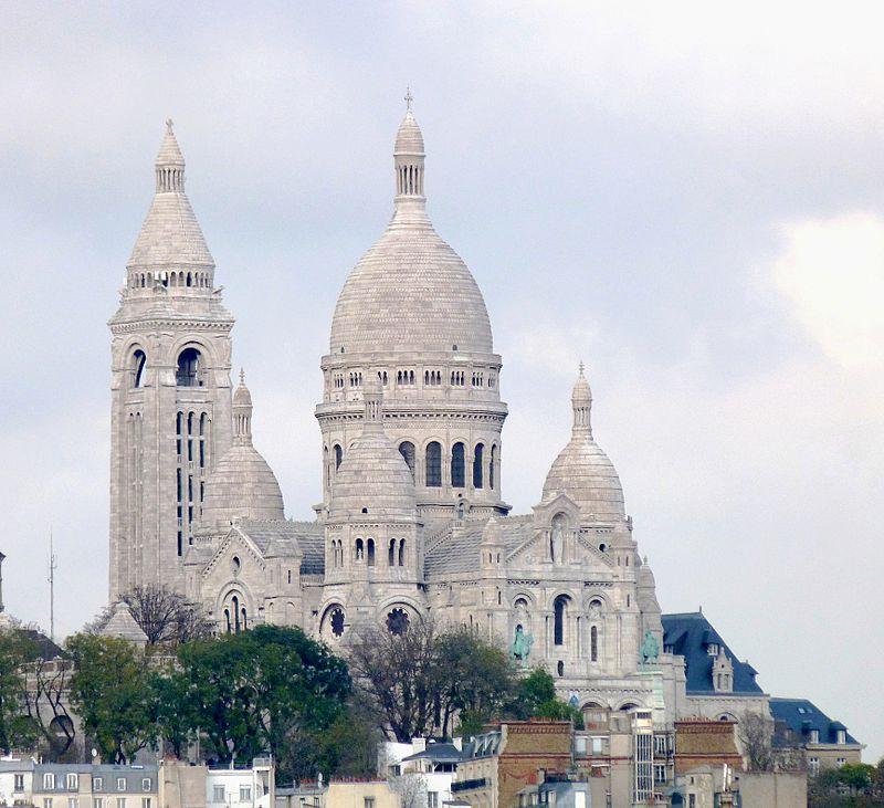 มหาวิหารพระหฤทัยแห่งมงมาทร์-สถาปัตยกรรมสวยๆ