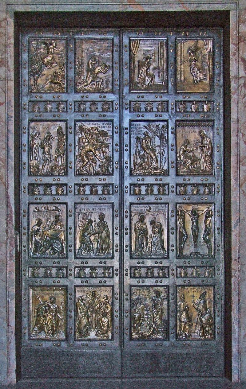 มหาวิหารเซนต์ปีเตอร์-ประตูศักดิ์สิทธิ์