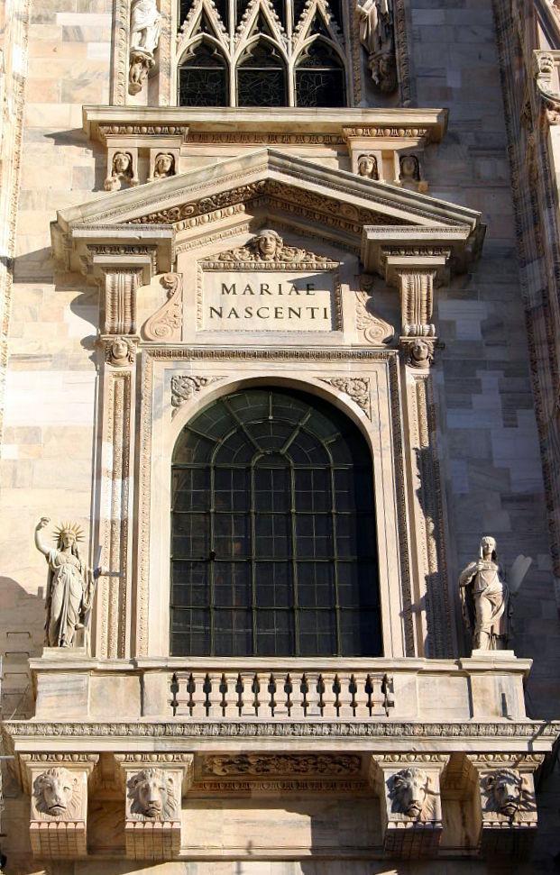 มหาวิหารเเห่งมิลาน -หน้าต่าง