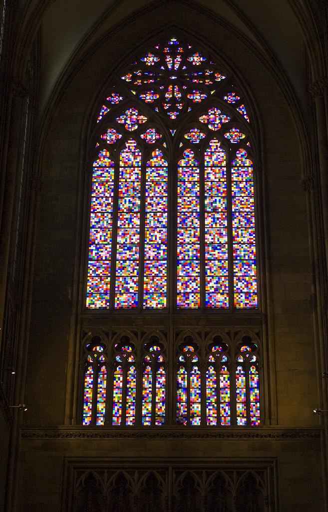 มหาวิหารโคโลญจน์-กระจกสี