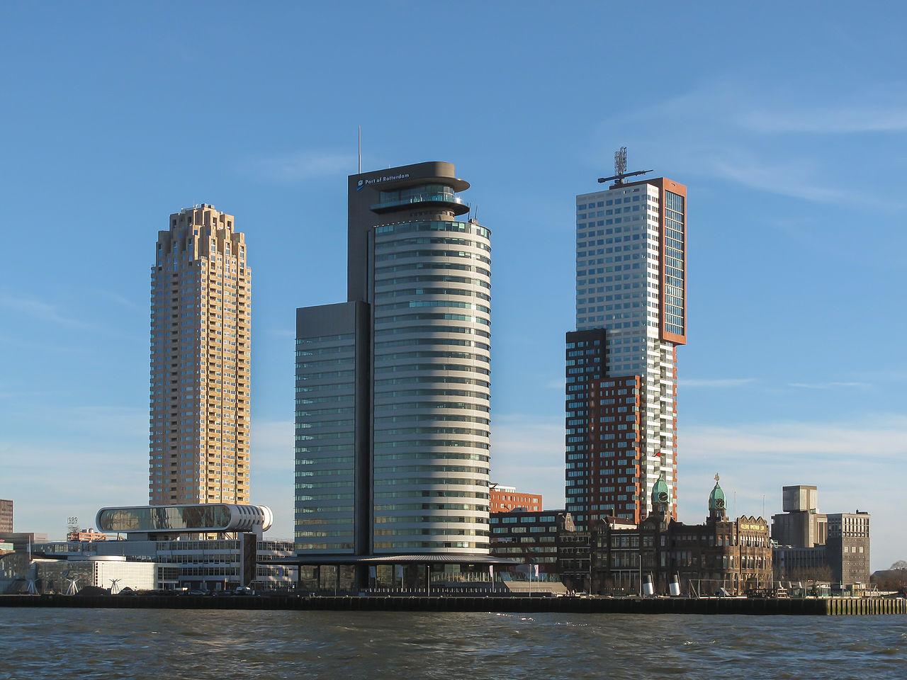 รอตเตอร์ดัม-อาคารสมัยใหม่