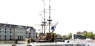 ล่องเรือในอัมสเตอร์ดัม -ตัวเรือที่ใช้