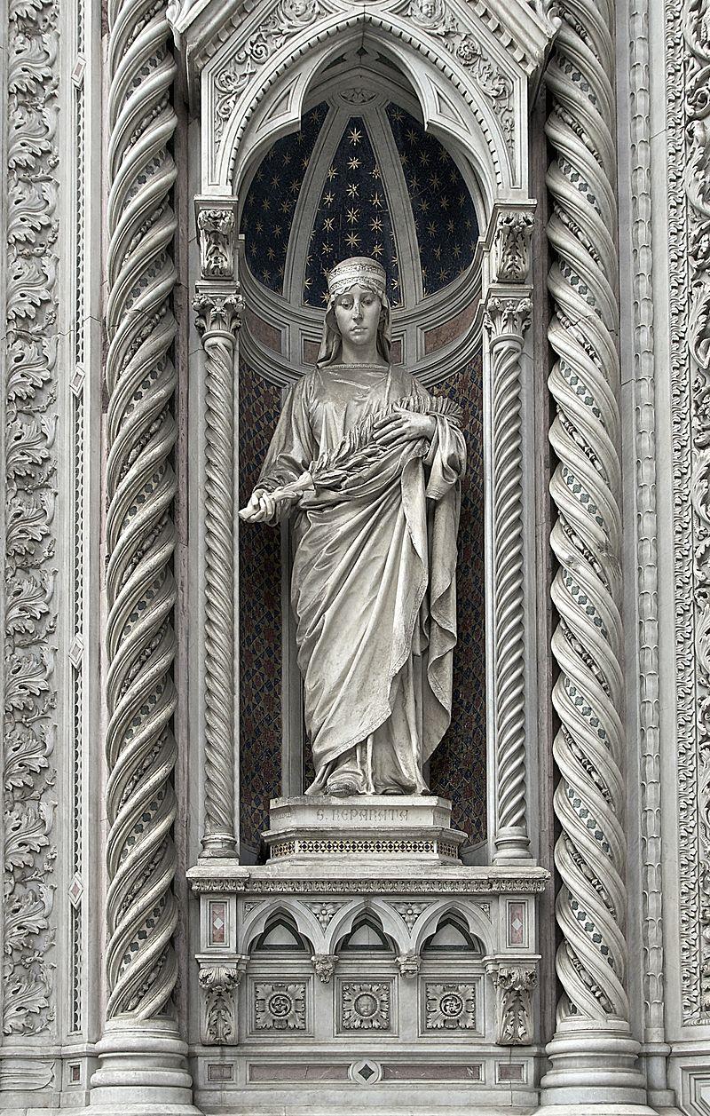 วิหารแห่งซานตามาเรียเดลฟิโอเร-พระเเม่มารี