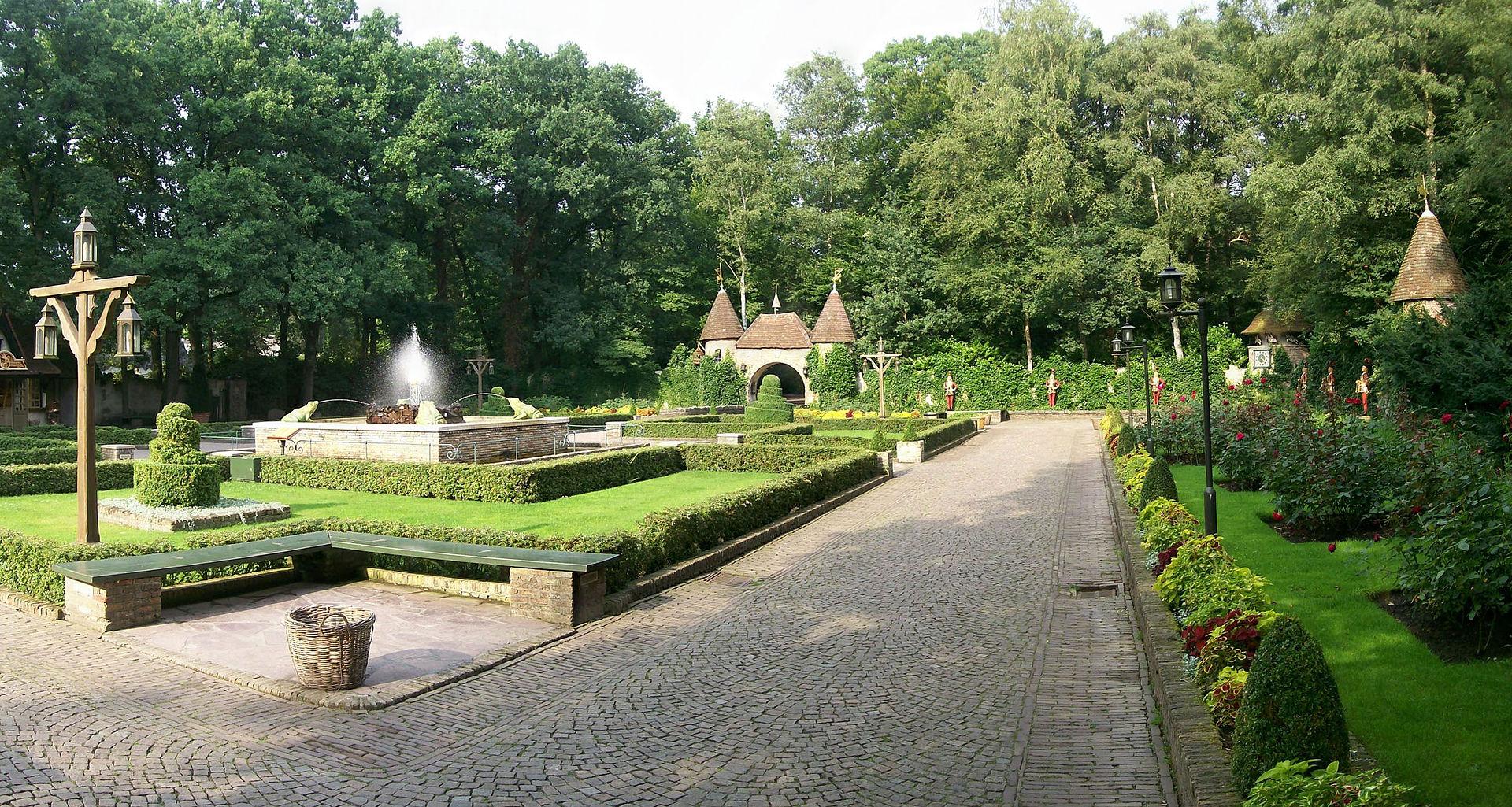 สวนสนุกเอฟเทลริ่ง -สวนงดงาม