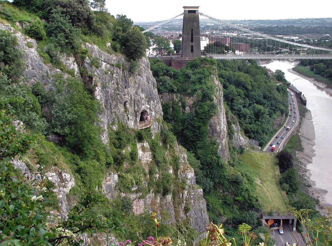 สะพานแขวนคลิฟตัน-มุมมองจากที่สูง