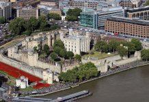 หอคอยแห่งลอนดอน-มุมสูง