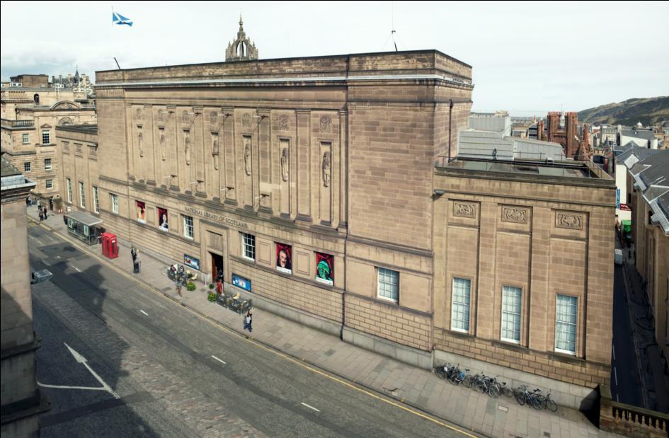 หอสมุดแห่งชาติสก็อตแลนด์-มุมสูง