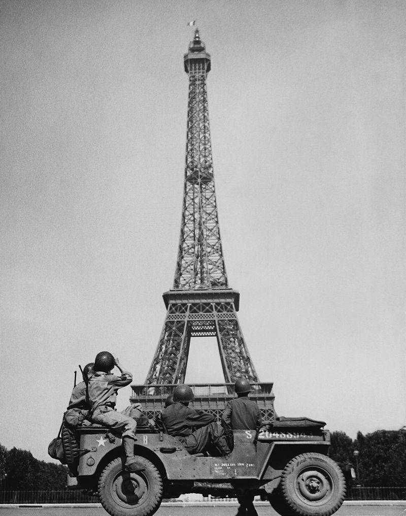 หอไอเฟล -สมัยสงครามโลกครั้งที่ 2
