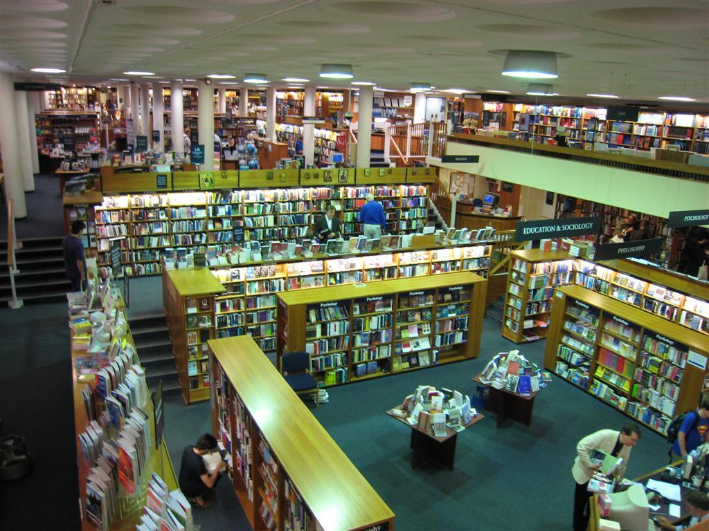 ออกซ์ฟอร์ด -ร้านหนังสือ