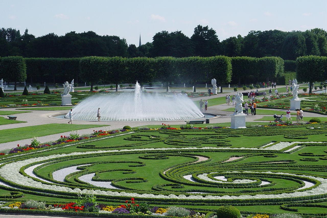ฮันโนเวอร์ -สวนสวยๆ