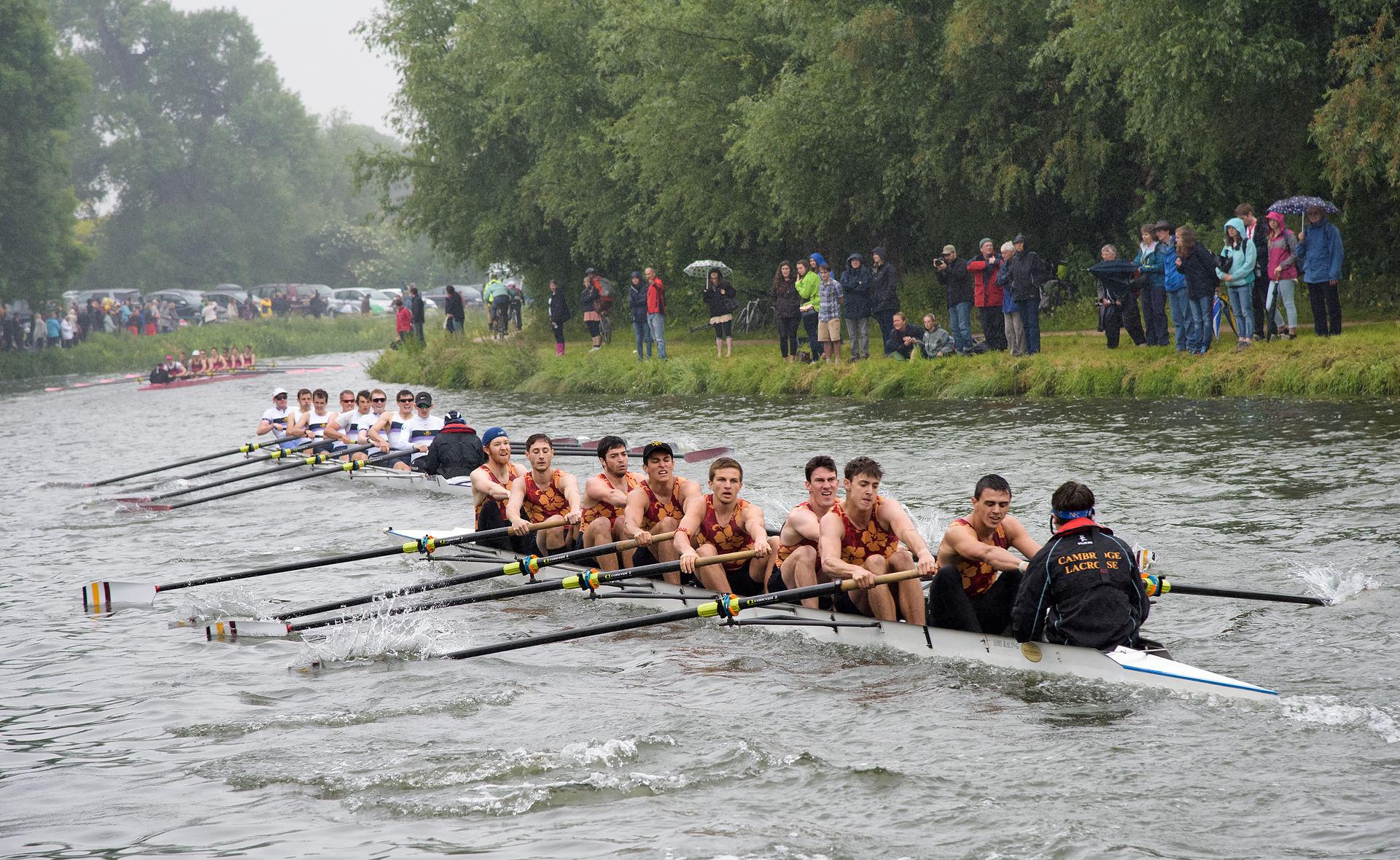 เคมบริดจ์-การเเข่งเรือประจำปี