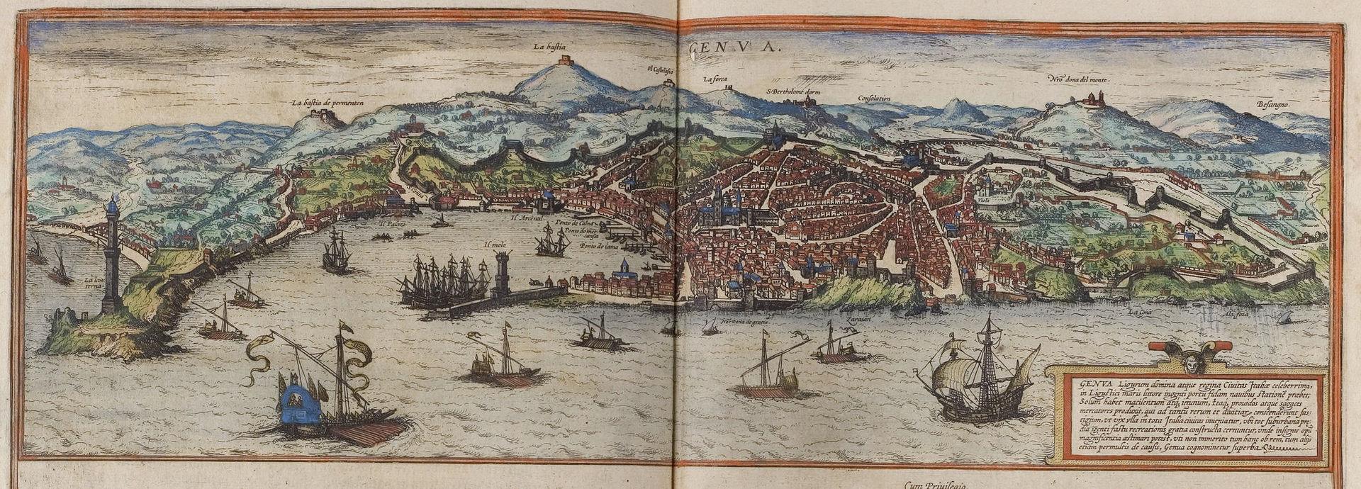 เจนัว -ภาพเมืองเจนัวในอดีต