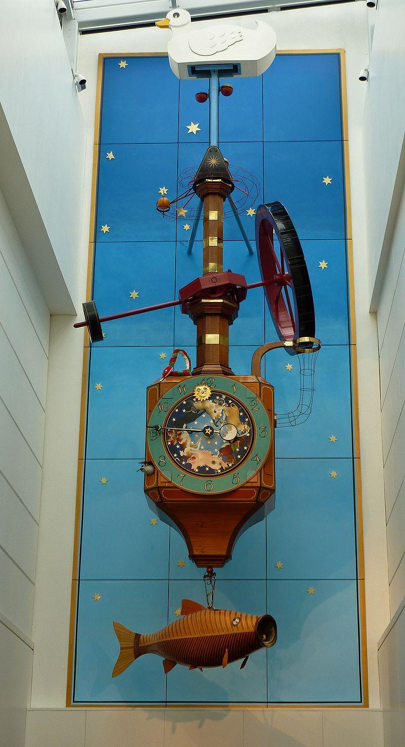เชลต์นัม -นาฬิกา