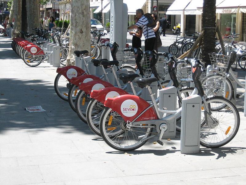 เซบียา-จักรยานไฟฟ้า