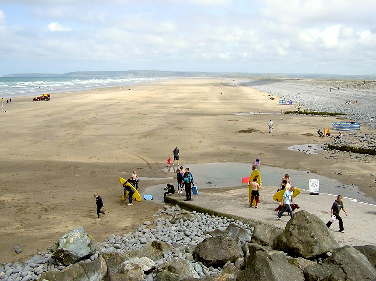 เดวอน -ชายหาด