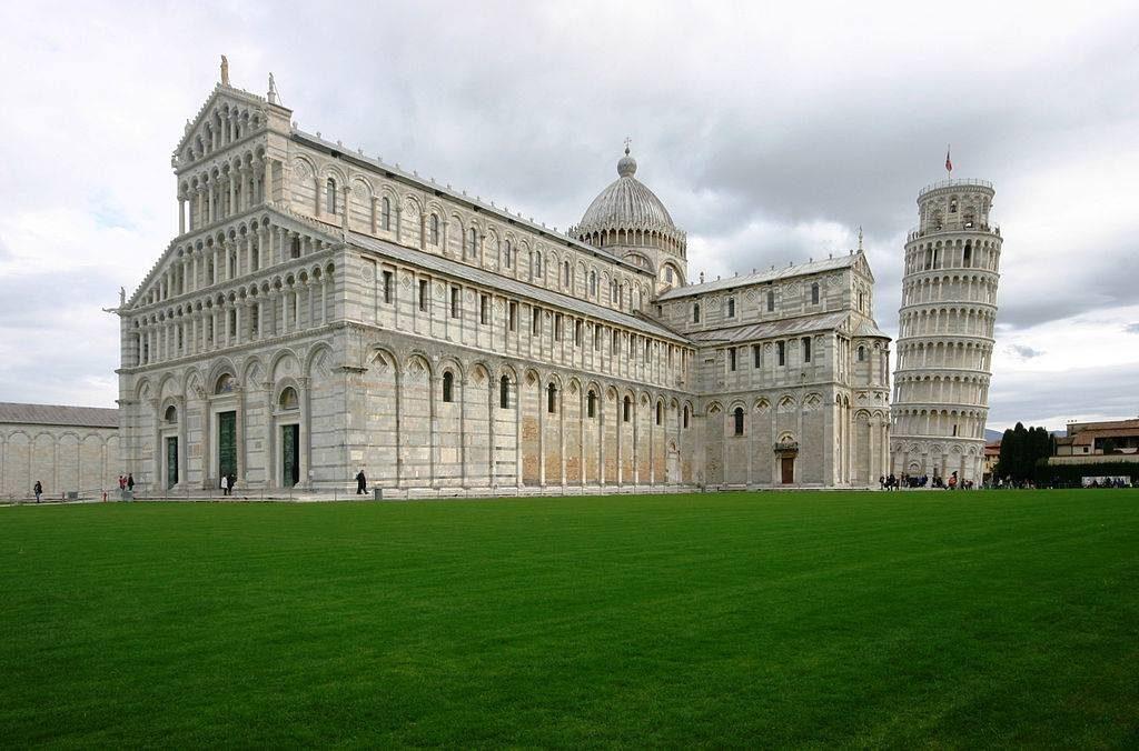 เที่ยวอิตาลี-หอเอนเมืองปิซา