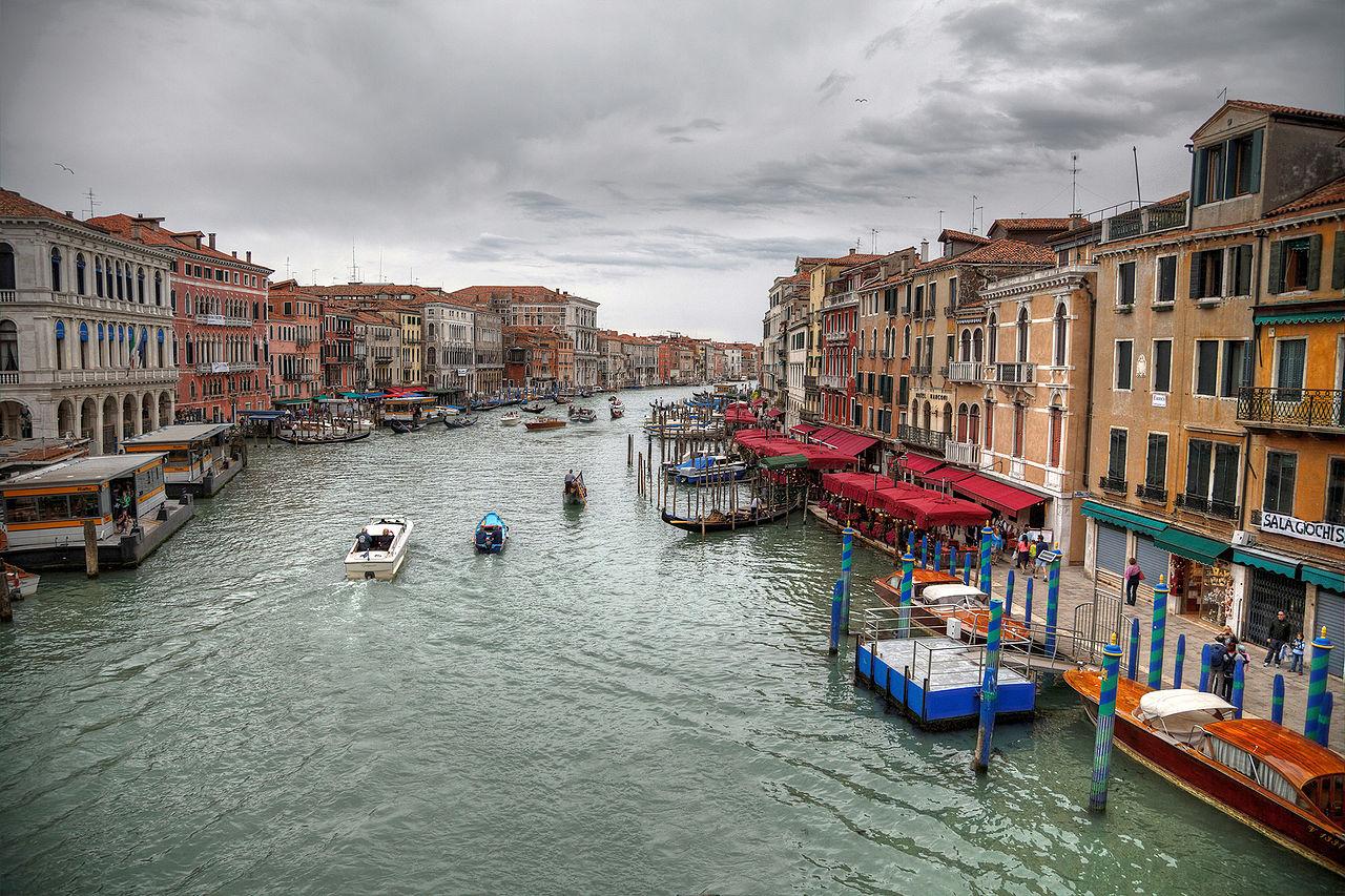เวนิส-บรรยากาศเมือง